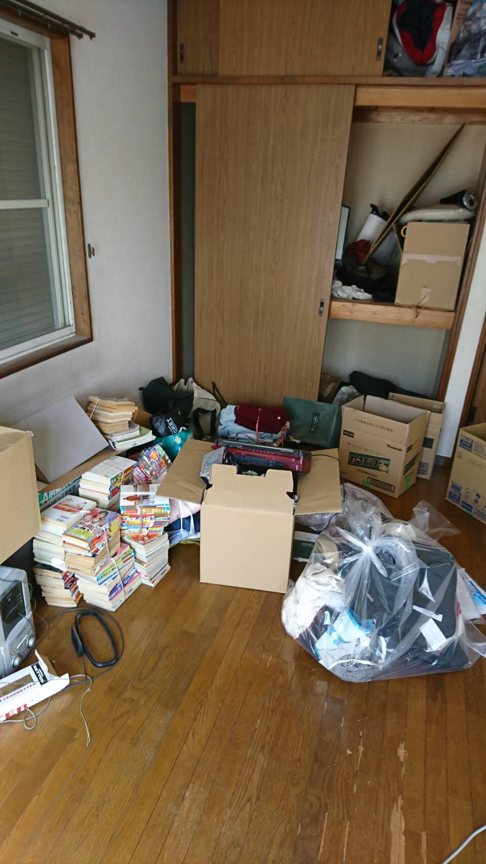 東京都の生前整理の清掃前