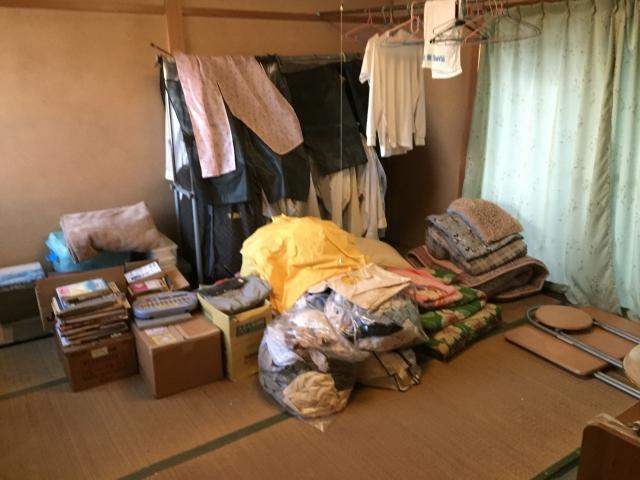 遺品整理 衣類 処分 ブログ01